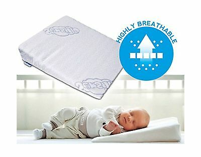 BRAND NEW Baby Wedge Anti Reflux Colic Pillow Cushion For Pram Crib Cot Bed... .