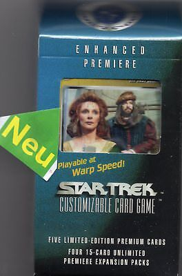 Star Trek ENHANCED Premiere Cards-Pack Set 4  NEU&Original OVP