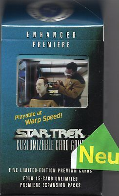 Star Trek ENHANCED Premiere Cards-Pack Set 3  NEU&Original OVP