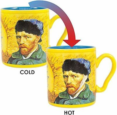Heat Change Van Gogh Ear Art Mug - Teacher Gift Coffee Cup New From Manufacturer