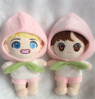 Bangtan Boys KPOP BTS Plush WINGS TAE V Doll Baby JUNGKOOK Doll Toy with clothes