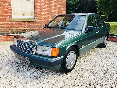 Mercedes Benz 190e 1993 with sportline interior, senior lady owner, full history