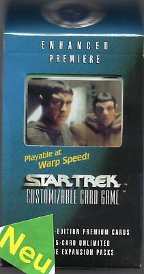 Star Trek ENHANCED Premiere Cards-Pack Set  2  NEU&Original OVP