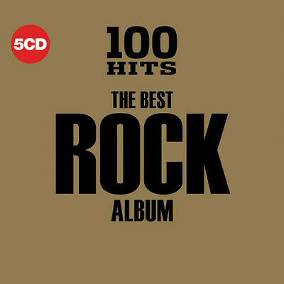 Various Artists - 100 Hits: The Best Rock Album / Various [New CD] Boxed Set, UK
