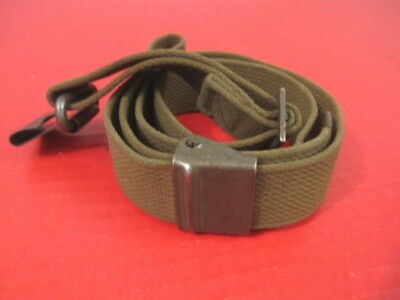 post-WWII US GI M1 Garand Canvas Rilfe Sling w/Hump Buckle - Very Nice #1