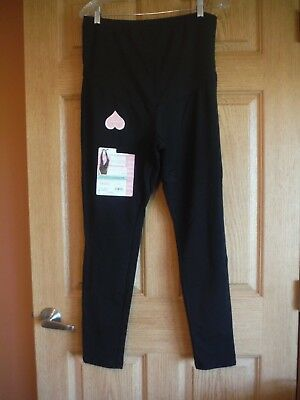 Maternity Leggings, Great Expectations, Black, Light weight, Choose size, NEW!!!