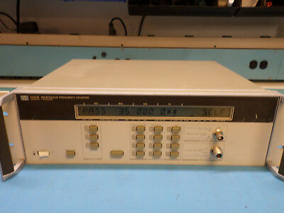 Hp 5350b 20 Ghz Microwave Frequency Counter