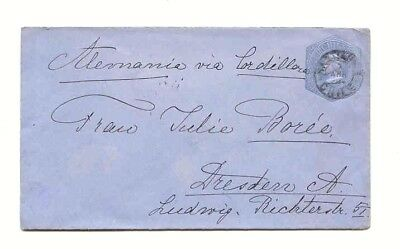 CHILE : BRIEF GANZSACHE 1904 > Dresden , Postal Stationery Cover