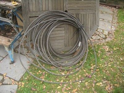APPROX 30 METRE WIRE ROPE FOR TIRFOR TU32 ETC 16.2mm DIA 3 TON SWL VAT INC SRA7