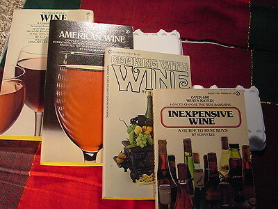 Wine  Book s Vintage 1971 Thru  1975