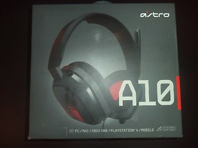 Astro A10 Gaming Headset Red Xbox One Ps4 Pc 39 99 Picclick Uk