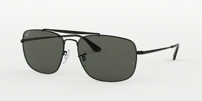 a3b2990862616a NEW RAY BAN 3560 The Colonel Sunglasses 002 58 Black 100% AUTHENTIC ...