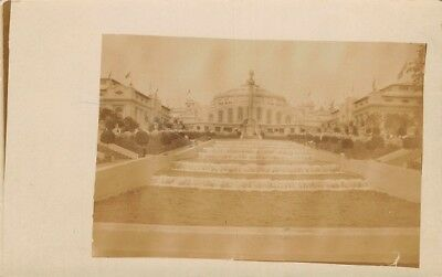 Alaska Yukon Pacific AYP Exposition RPPC Antique Real Photo Postcard PM 1909 WA