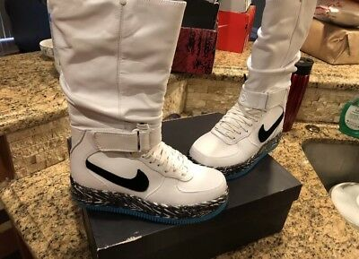 competitive price 47377 18339 NIKE AF1 AIR Force 1 Upstep Warrior N7 Snowboot White ...