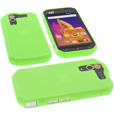 2000b9a5b7 CASE FOR CAT S60 Cell Phone Pocket Cases TPU Rubber Case Green ...