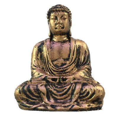 Buddha Statue Sculpture Meditating Antique Style Home Decor Ornament