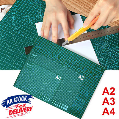 A2 A3 A4 DIY Grid Lines PVC Thick Craft Quilting Art Self Healing Cutting Mat