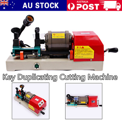 220V Automatic Key Copy Duplicating Cutting Machine For Home Car&More
