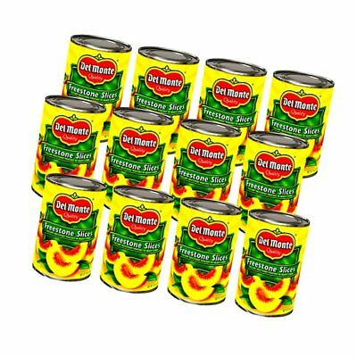 Del Monte Canned California Freestone Sliced Peaches, 15.25-Ounce (Pack of..