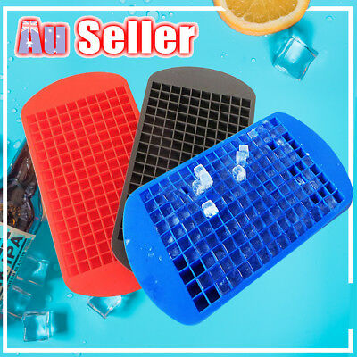 160 Grids Frozen Cubes Silicone Mini Small DIY Ice Cube Tray Ice Maker Mold