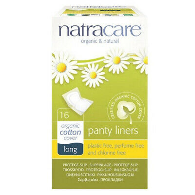Natracare Panty Liners Long ~ 16 Panty Liners