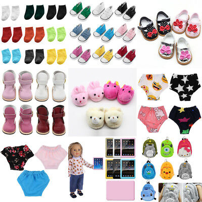 "Dolls Socks Shoes For 18"" American Girl My Life Our Generation Doll Accessories"