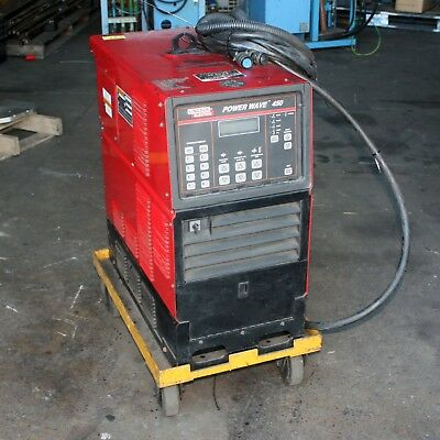 Lincoln Electric Power Wave 450 Robotic MIG Weld Robot Welder Controller Cables