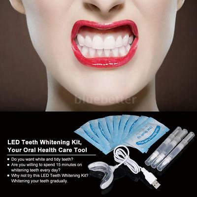 Dental Teeth Whitening kit Carbamide Peroxide Bleaching System Oral Gel S8X0