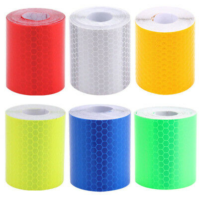 3m Reflective Safety Warning Conspicuity Roll Tape Film Sticker For Car Truck T7