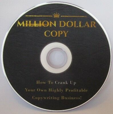 Million Dollar Copy Tutorials on DVD