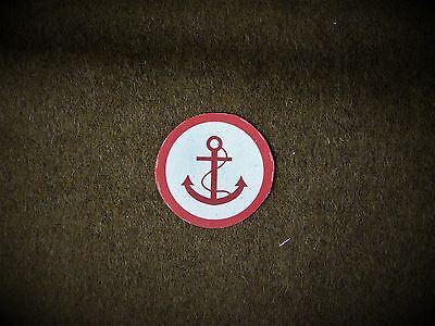 Beach Group insignia reproduction printed badges WWII for Battledress