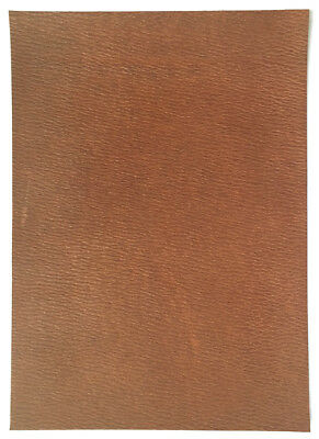 Horween Arlington Leather 2.2-2.4 mm Thick Walnut Coach Grain Ideal for Notebook