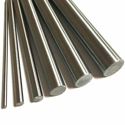 "SILVER STEEL Round Rod Bright Bar 1/4"" dia 13"" length shafting ground"