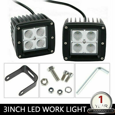 2pcs LED 54W 12V 24V Work Light FLOOD Light Off Road ATV SUV Car Boat Jeep Truck