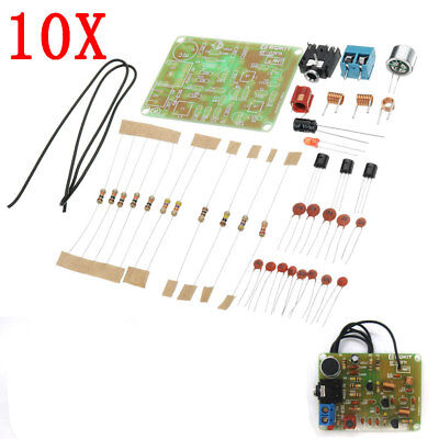 10pcs DC 3V To 6V DIY 88-108MHz FM Frequency Modulation Wireless Microphone Modu