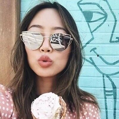 a98a2066ed4 GENTLE MONSTER MIRRORED Womens Sunglasses Floral Fun Stylish ...