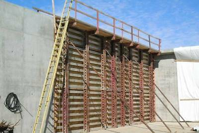 BEP Aluminum Concrete Gang Forms Hardly Used Western Hand Set Over 300k Invested