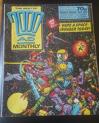 BEST OF 2000AD MONTHLY #30 1988 - The V.C.'S 2000 AD Megazine