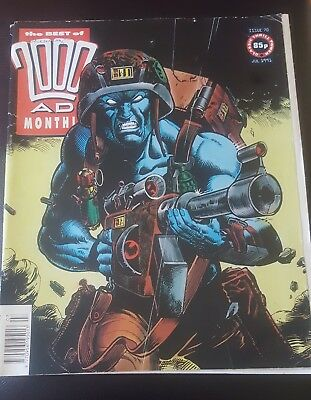 BEST OF 2000AD MONTHLY #70 1991 - Rogue Trooper 2000 AD Megazine
