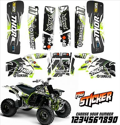 Yamaha banshee full graphics kit sticker decals