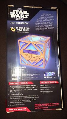 New! Star Wars Science Jedi Holocron.