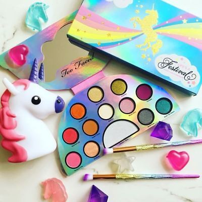 TOO Faced LIFE'S a FESTIVAL PEACE, LOVE and UNICORNS Eyeshadow Palette BEST PRIC