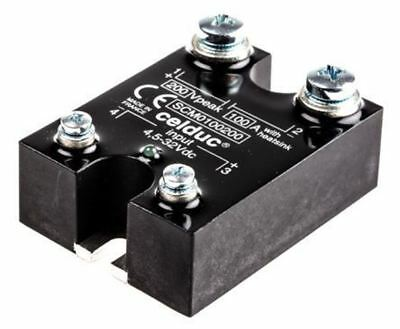 Celduc 100 A Solid State Relay, Chassis Mount MOSFET, 200 V Maximum Load