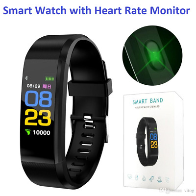 Smart Watch Bracelet Fitness Activity Tracker Sport Monitor iPhone Android