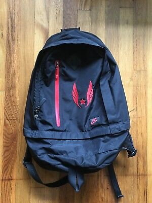 NWT Nike 2017 Alpha Adapt Rev Pro Solid Rucksack Backpack BA5255 687 RED  BLACK.  54.99 Buy It Now 24d 8h. See Details. Nike USATF Backpack db725b174e9ce