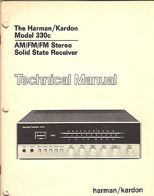 service manual harman kardon hk340 am fm stereo fm solid state receiver