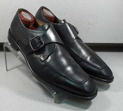 241701 PFi60 Men/'s Shoes Size 10.5 Black Lace Up  Made in Italy Johnston Murphy