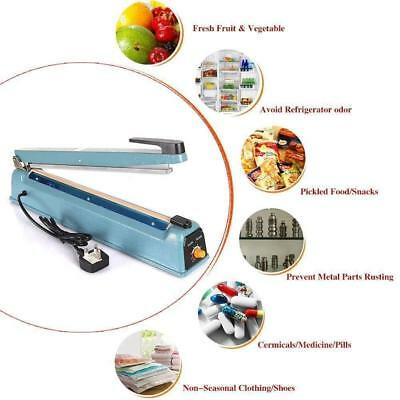 Heat Sealer Machine Plastic PP Bag Film Sealing Food Beverages Also Medical Use