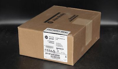 New Surplus SEALED Allen Bradley Panelview Plus 600 2711P-K6C20A8 Ser A