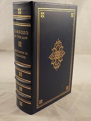 Legal Classics Library - Cardozo on The Law Benjamin N. Cardozo Like New